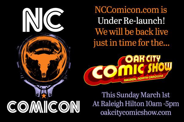 NC Comicon 2015