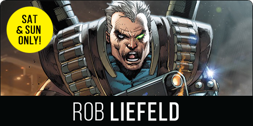 NCComicon Bull City Rob Liefeld Guest
