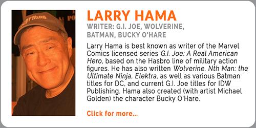 Hama, Larry 500x250